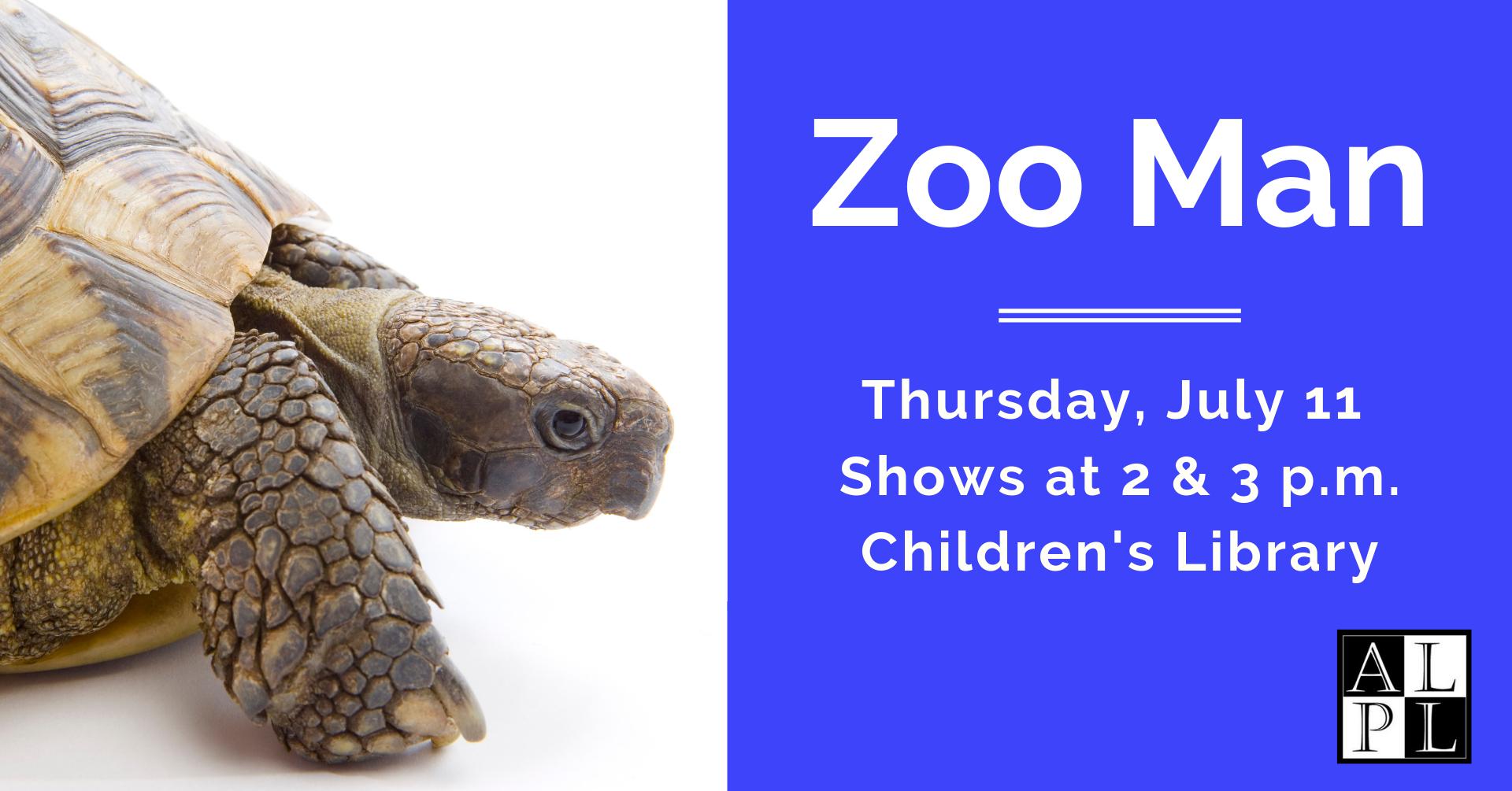 Facebook Event - Zoo Man